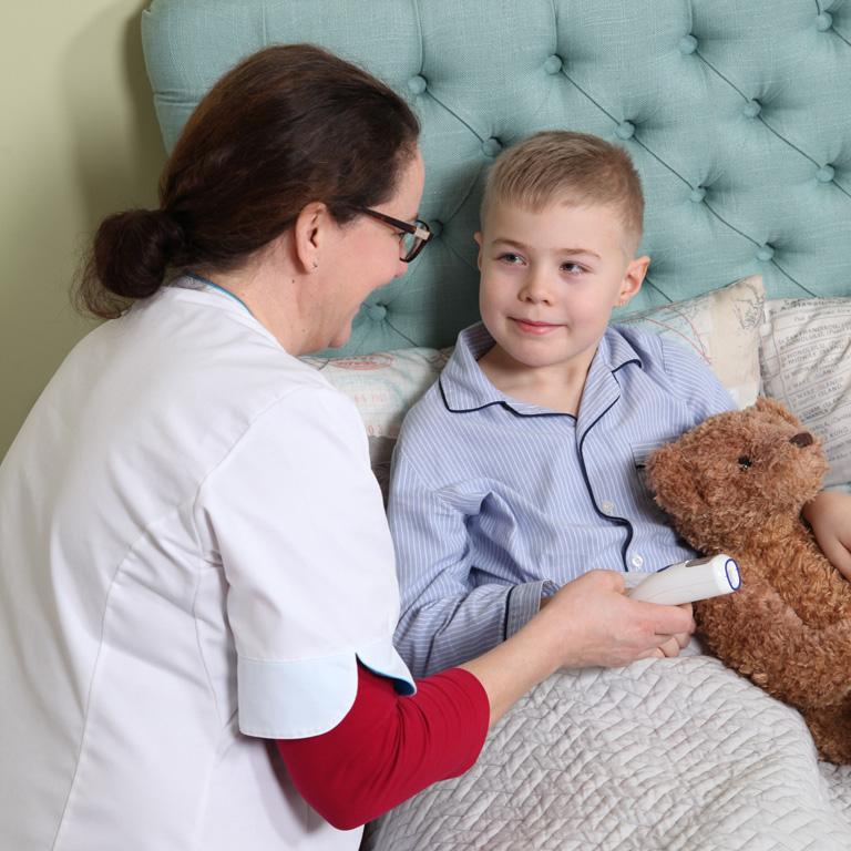 terveydenhoitajan sairaskaynti kotona